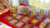 Giá vàng SJC rớt về quanh mức 55,5 triệu đồng/lượng, giảm 700 nghìn đồng/lượng trong tuần này