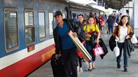 Ga Sài Gòn bán hơn 200.000 vé tàu Tết