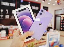 iPhone 12 và 12 Mini màu tím chính hãng về Việt Nam, giá từ 18 triệu đồng
