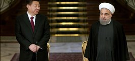 """Trung Quốc - Iran ấp ủ kế hoạch lớn để ra """"đòn đau"""" với Mỹ?"""