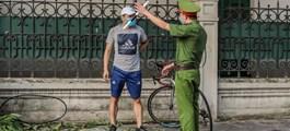 Hà Nội phạt hơn 1,5 tỷ đồng trong 3 ngày đầu giãn cách xã hội