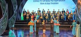 """Tân Á Đại Thành lần thứ 4 đạt giải thưởng """"thương hiệu quốc gia"""""""
