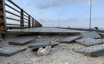 Công trình 250 tỷ chưa nghiệm thu đã 'thương tích đầy mình' vì bão