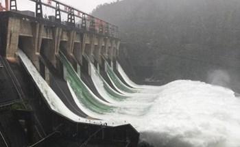 TQ: Hồ thủy điện phải mở 7 cổng xả lũ lần đầu tiên sau 9 năm