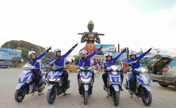 KINH DOANH  Face Book Twitter Bình luận Tin nóng Cán mốc 2.500km xuyên ĐNÁ, Yamaha Blue Core tiết kiệm xăng mức nào?