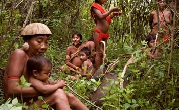 Những tập tục kỳ lạ của bộ tộc sống biệt lập trong rừng sâu Amazon