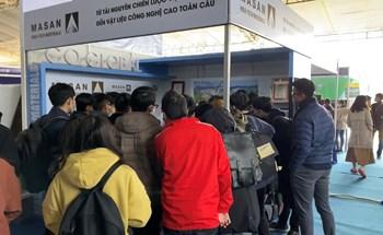 Vật liệu công nghệ cao của Việt Nam được chú ý tại Triển lãm quốc tế Đổi mới sáng tạo