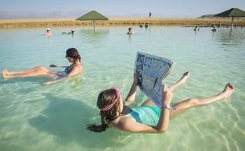 Israel - nơi có hồ nước trong cá không sống nổi