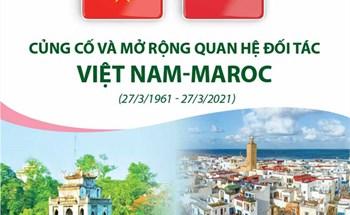 Củng cố và mở rộng quan hệ đối tác Việt Nam-Maroc (27/3/1961 - 27/3/2021)