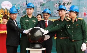 Hạ thủy tàu tuần tra cao tốc theo hợp tác Việt - Ấn
