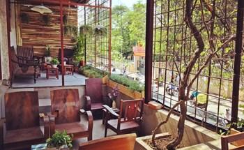 5 quán cà phê ẩn trong chung cư Hà Nội
