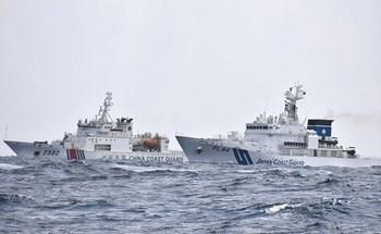 Tàu hải cảnh Trung Quốc áp sát đảo tranh chấp với Nhật