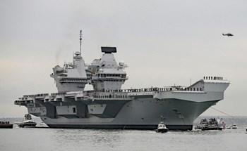 Phát hiện hơn 100 ca Covid-19 trên tàu sân bay Anh