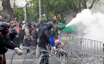 Nghìn người Thái Lan biểu tình giữa Covid-19
