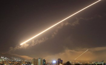 Syria bắn hạ 7/8 tên lửa Israel