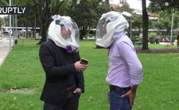 Mũ bảo hiểm chống Covid-19 công nghệ vũ trụ, giá bán gần 3 triệu VNĐ