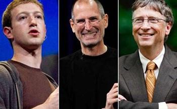 """Những """"ông trùm"""" công nghệ từ bỏ đại học và thành công ngoài mong đợi (P2)"""