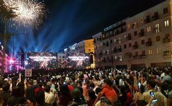 Rực rỡ pháo hoa chào mừng thành phố Phú Quốc