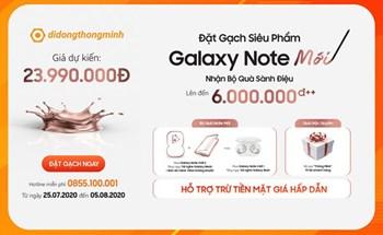 Nhận bộ quà 12 triệu khi đặt trước smartphone doanh nhân Galaxy Note20 Series