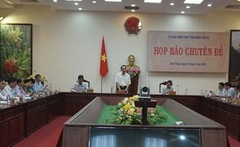 """Bình Thuận thông tin về 4 dự án """"lùm xùm"""" giao đất không qua đấu giá"""