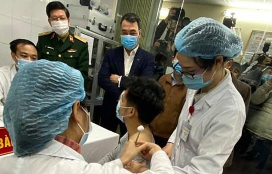 Ngày 8/3 bắt đầu tiêm vắc-xin COVID-19