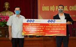 Tập đoàn FLC ủng hộ 3,5 tỷ đồng chung tay cùng Vĩnh Phúc chống dịch Covid – 19