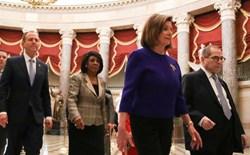 Sáng nay, Hạ viện Mỹ bỏ phiếu luận tội Tổng thống Trump