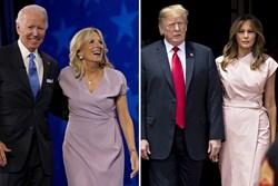Sự đối lập giữa bà Jill Biden và Melania Trump