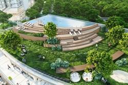 Ecopark có hồ bơi Bali điện phân muối tốt cho sức khoẻ
