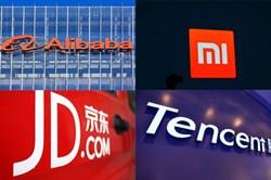 """Cổ phiếu công nghệ Trung Quốc """"tụt áp"""