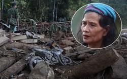 Nước mắt cụ bà mất 8 người thân trong vụ sạt lở ở Quảng Nam: