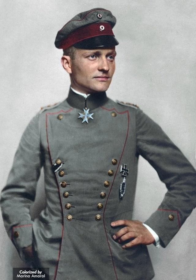 Manfred von Richthofen là phi công nổi tiếng nhất lịch sử thế giới.
