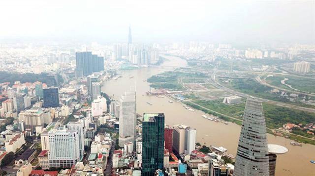 TP.HCM dự kiến sáp nhập 19 phường và 3 quận để lập thành phố phía Đông. Ảnh: Đình Sơn