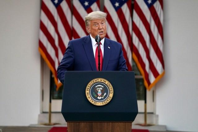 Tổng thống Donald Trump (Ảnh: AFP)